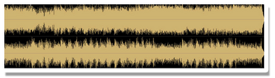 Mastered Audio Wav Form